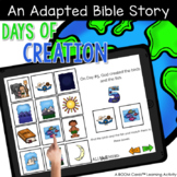 Days of Creation Adapted Bible Story with Boom Cards™