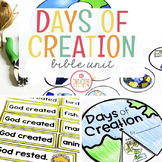 DAYS OF CREATION BIBLE LESSONS UNIT