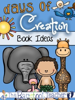 Days of Creation Book Ideas {8 little-kid friendly book suggestions}