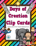 Days of Creation Clip Cards