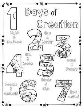 creation christian free coloring pages - photo#17