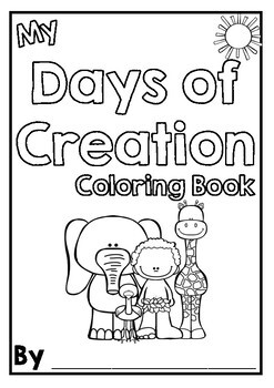 Days of Creation - Coloring and Puzzle Pages