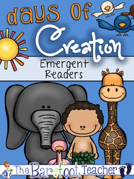 Days of Creation Emergent Reader {3 Versions}