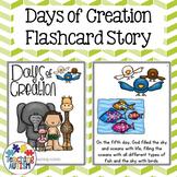 Days of Creation Flashcard Story