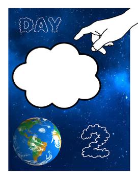 Days of Creation Interactive Bulletin Board