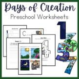 Days of Creation PreK-K Learning Pack