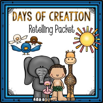 Days of Creation- Stick Puppets