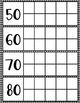 Days of School Calendar Ten Frames - Black and White