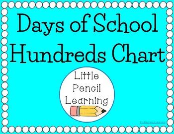 Days of School Hundreds Chart