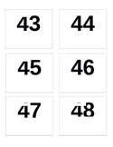 Days of School Number Line - color pattern