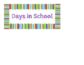 Days of School - Place Value