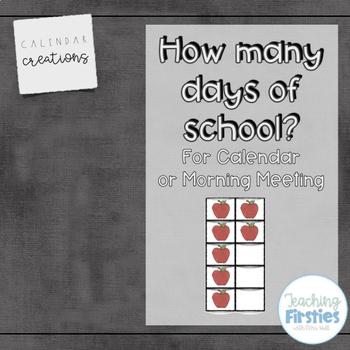Days of School Poster