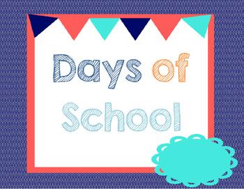 Days of School Ten Frame