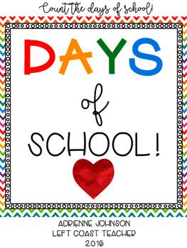 Days of School Ten-Frame Counter