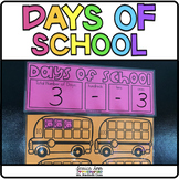 Days of School Ten Frames for Calendar | How Many Days Hav