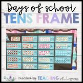 Days of School Tens Frames