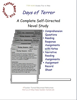 Days of Terror: A Complete Novel Study