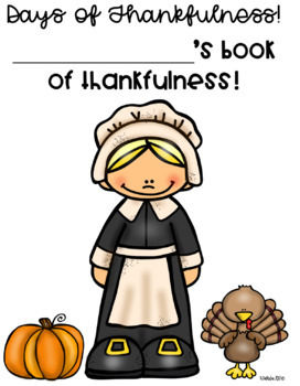 Days of Thankfulness for Students- Editable