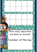 Days of school - 10s frame counting chart