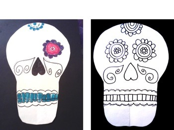 Days of the Dead Art Lesson