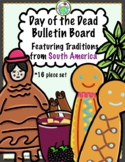 Days of the Dead Bulletin Board Set South America Traditio