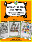 Dia de los Muertos Make Your Own Ofrenda / Altar Day of the Dead