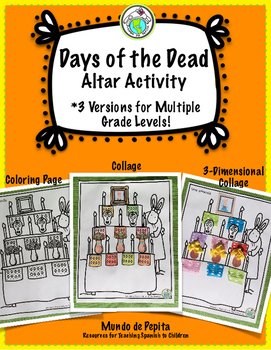 Days of the Dead Make Your Own Ofrenda / Altar Spanish Resources