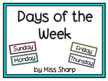 Days of the Week 2