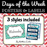 Days of the Week (Posters & Labels)