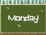 Days of the Week - Camping Theme