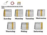Days of the Week Circle