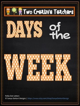 Days of the Week Circus Theme 2