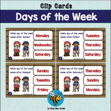 ESL NEWCOMER GAMES: Days of the Week Clip Cards