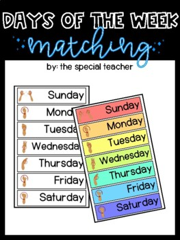 Days of the Week- Color