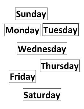 Communicative ESL-Days of the Week