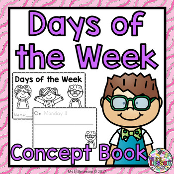 Days of the Week Concept Book