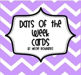 Days of the Week Display Cards