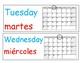 Days of the Week Dual Language