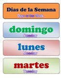 Days of the Week English/Spanish