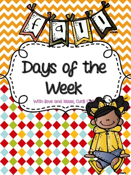 Days of the Week - Fall/Autumn