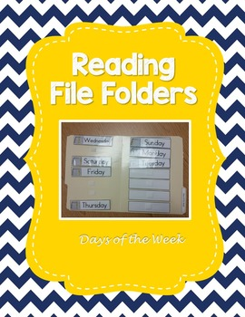 Days of the Week File Folder Activity