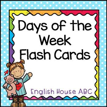 Days of the Week -Flashcards
