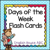 Days of the Week - Flashcards [NEW & UPDATED]
