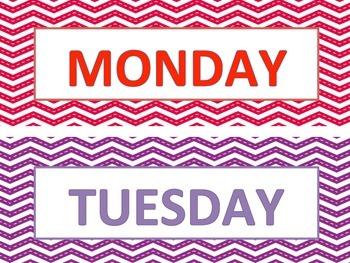 Days of the Week (FREEBIE)