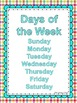 Days of the Week Sequencing Build Skills & Fluency w Flash