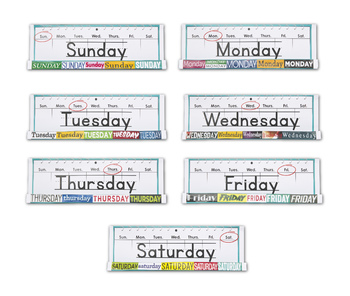 Days of the Week GrandStand Packet
