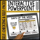 Days of the Week Interactive Powerpoint
