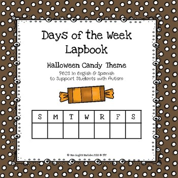 Days of the Week Lapbook (Halloween Candy Theme)