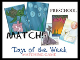 Days of the Week Matching Game