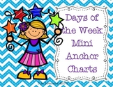 Days of the Week Mini Anchor Charts